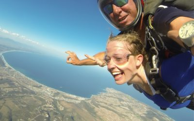 Your first tandem skydive