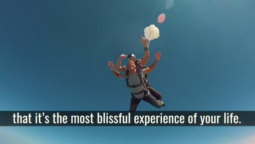 Will Smith skydiving experience, a brilliant narrative of how the actor got to jump.