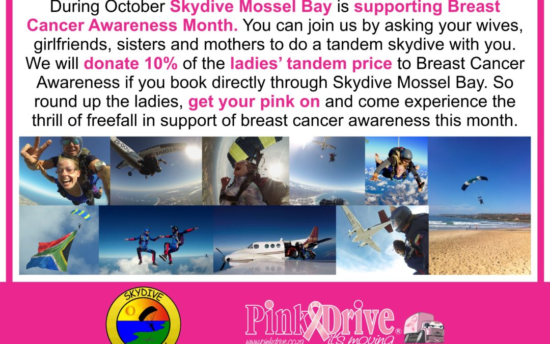 Pink & Skydiving for Breast Cancer Awareness