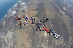 Skydive jumps for Experienced skydivers