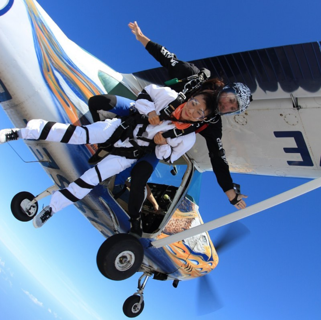 Tandem Skydiving in South Africa at Skydive Mossel Bay in the Western Cape