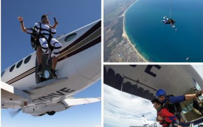 The Best Skydiving Plane For Tandems, Groups and Altitude